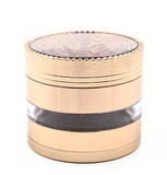 4 Layer 63MM Metal Grinder Top Layer Maze