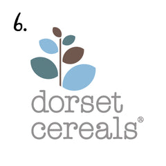Breakfast on Sunday morning courtesy of Dorset Cereals