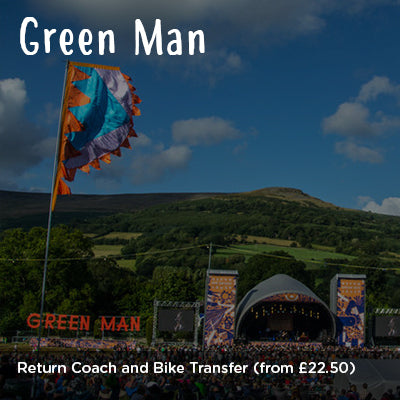 Green Man Return Coach and Bike Transfer