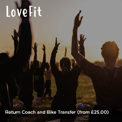 LoveFit Return Coach and Bike Transfer