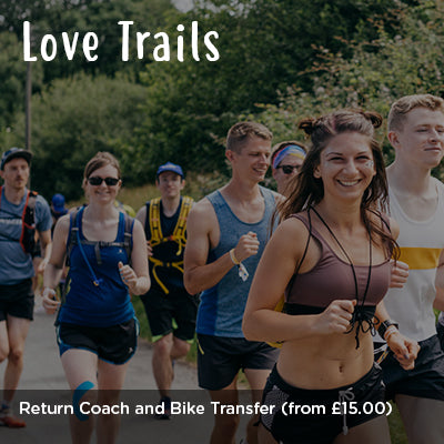 Love Trails Return Coach and Bike Transfer