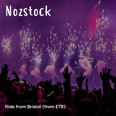 Ride from Bristol to Nozstock with Red Fox Cycling