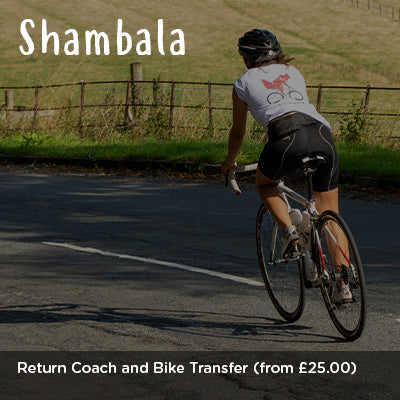 Shambala Return Coach and Bike Transfer