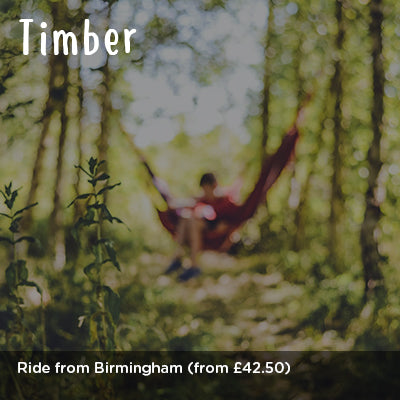 Ride to Timber from Birmingham