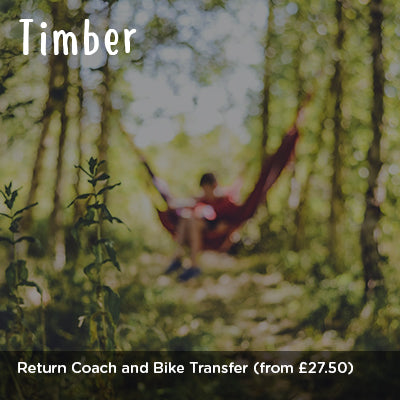 Timber Return Coach and Bike Transfer