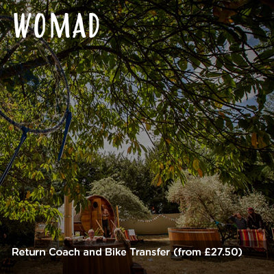 WOMAD Return Coach and Bike Transfer
