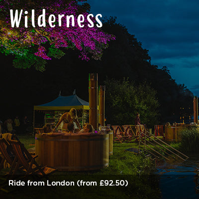 Ride from London to Wilderness