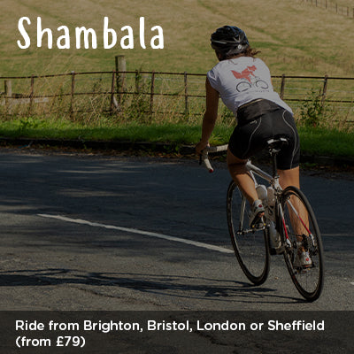 Ride from Brighton, Bristol, London or Sheffield to Shambala