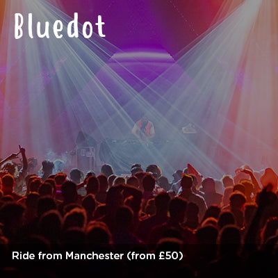 Ride to Bluedot from Manchester