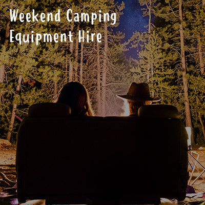 Weekend Camping Equipment Hire