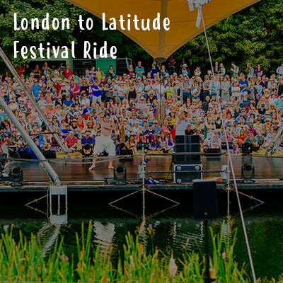 London to Latitude Festival Ride