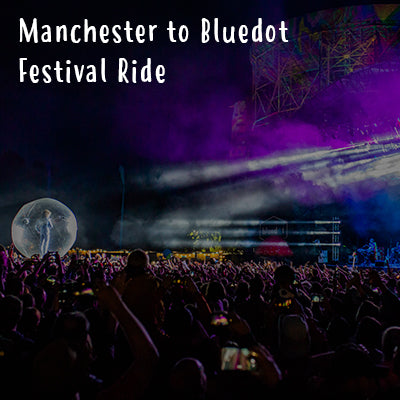 Manchester to Bluedot Festival Ride