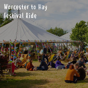 Worcester to Hay Festival Ride
