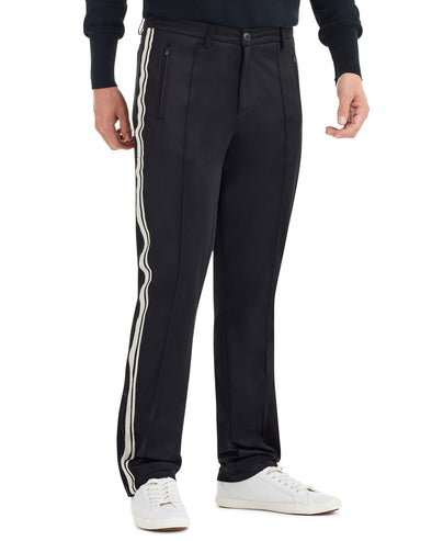 Side Stripe Track Pant - Black