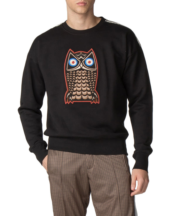 Night Owl Sweatshirt - Black