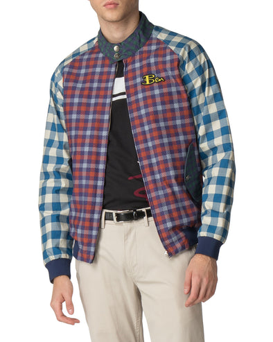 Ben Sherman x House of Holland Digitally Printed Harrington Jacket