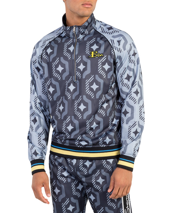 Ben Sherman x House of Holland Geo Wallpaper Print Tracksuit Jacket