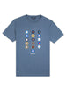 History of Target T-Shirt - Light Indigo
