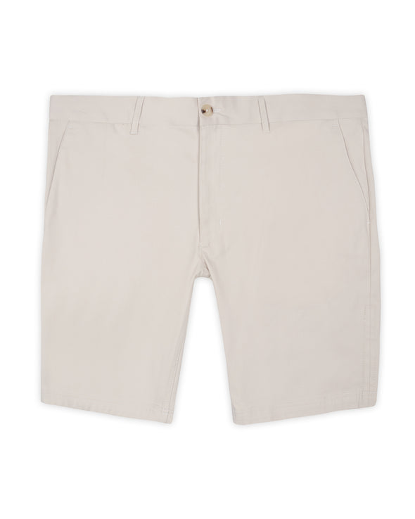 Signature Slim Stretch Chino Short - Putty