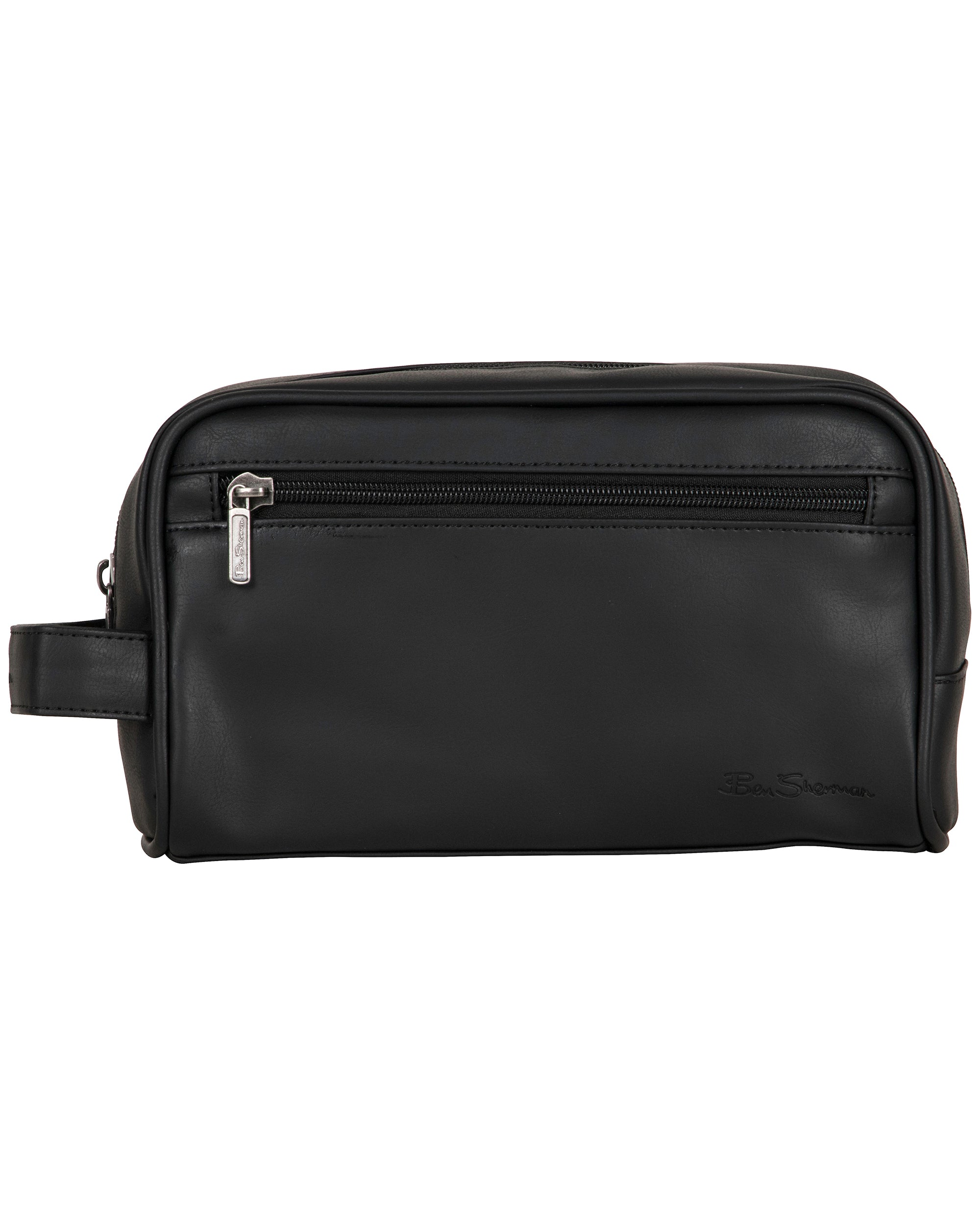 Mayfair Single Compartment Travel Dopp Kit - Black