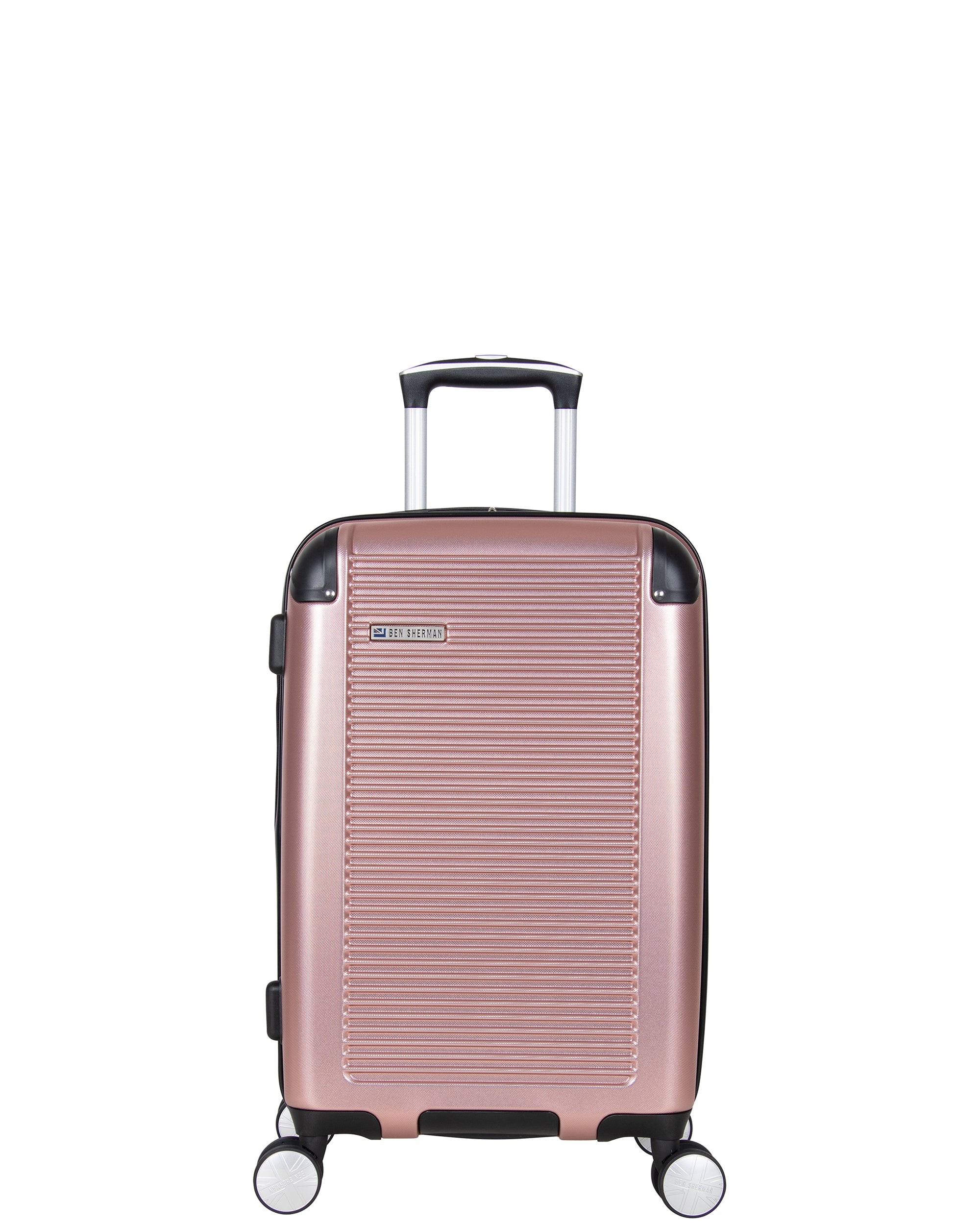 "Norwich 20"" Hardside Expandable Carry-On Luggage - Rose Gold"