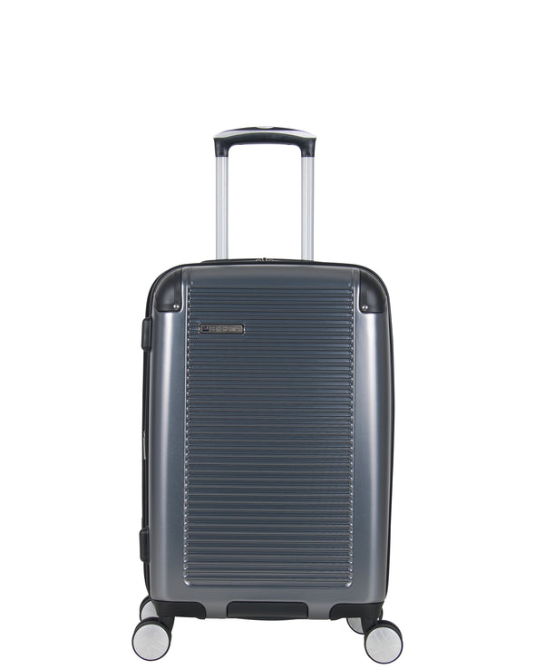 "Norwich Collection 20"" Carry-On Hardside Expandable Luggage - Pewter"