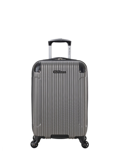 "Charlton Bay 20"" Lightweight Hardside Luggage - Silver"