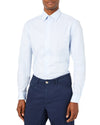 End-on-End Skinny Fit Dress Shirt - Sky Blue