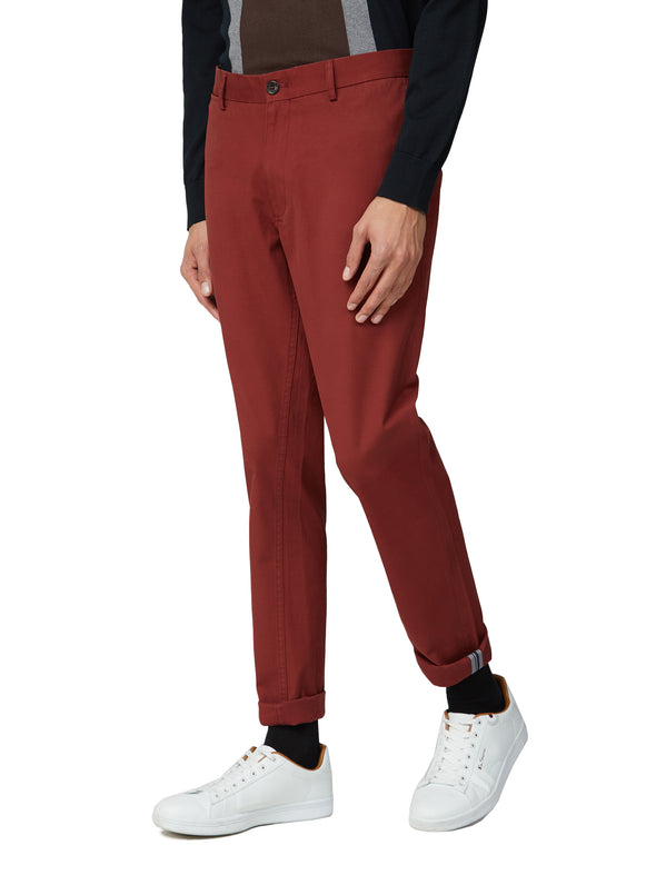 Skinny Stretch Chino Pant - Chestnut