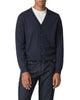 Merino Cardigan Sweater - Navy Blazer