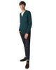 Merino Cardigan Sweater - Dark Green