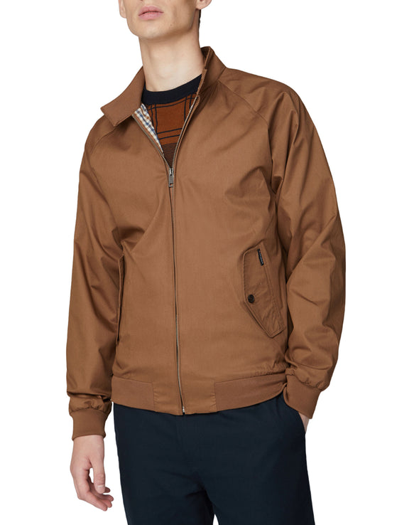 Harrington Jacket - Tan