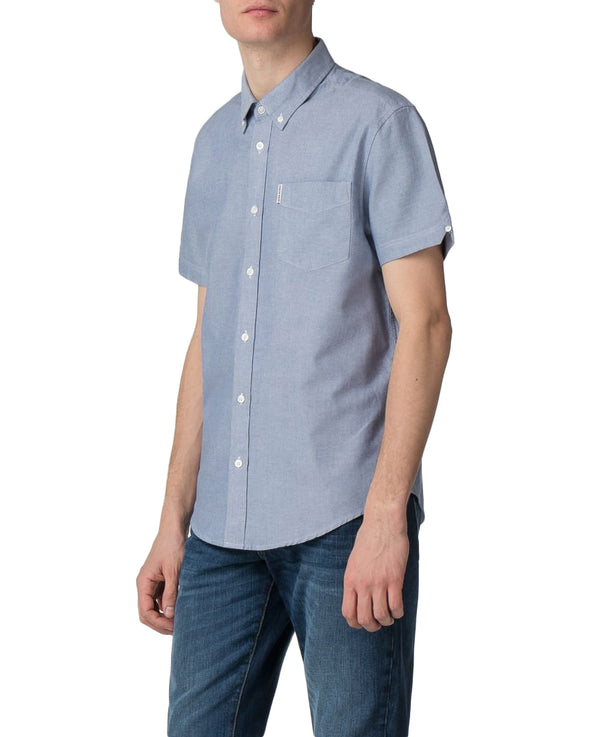 Short-Sleeve Core Oxford Shirt - Classic Navy
