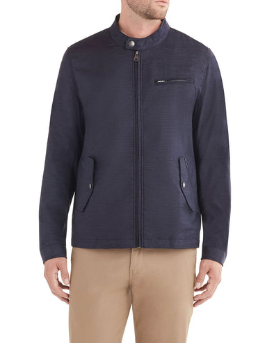 Racing Jacket - Navy