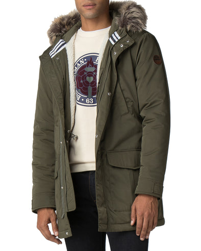 Winter Parka - Dark Green