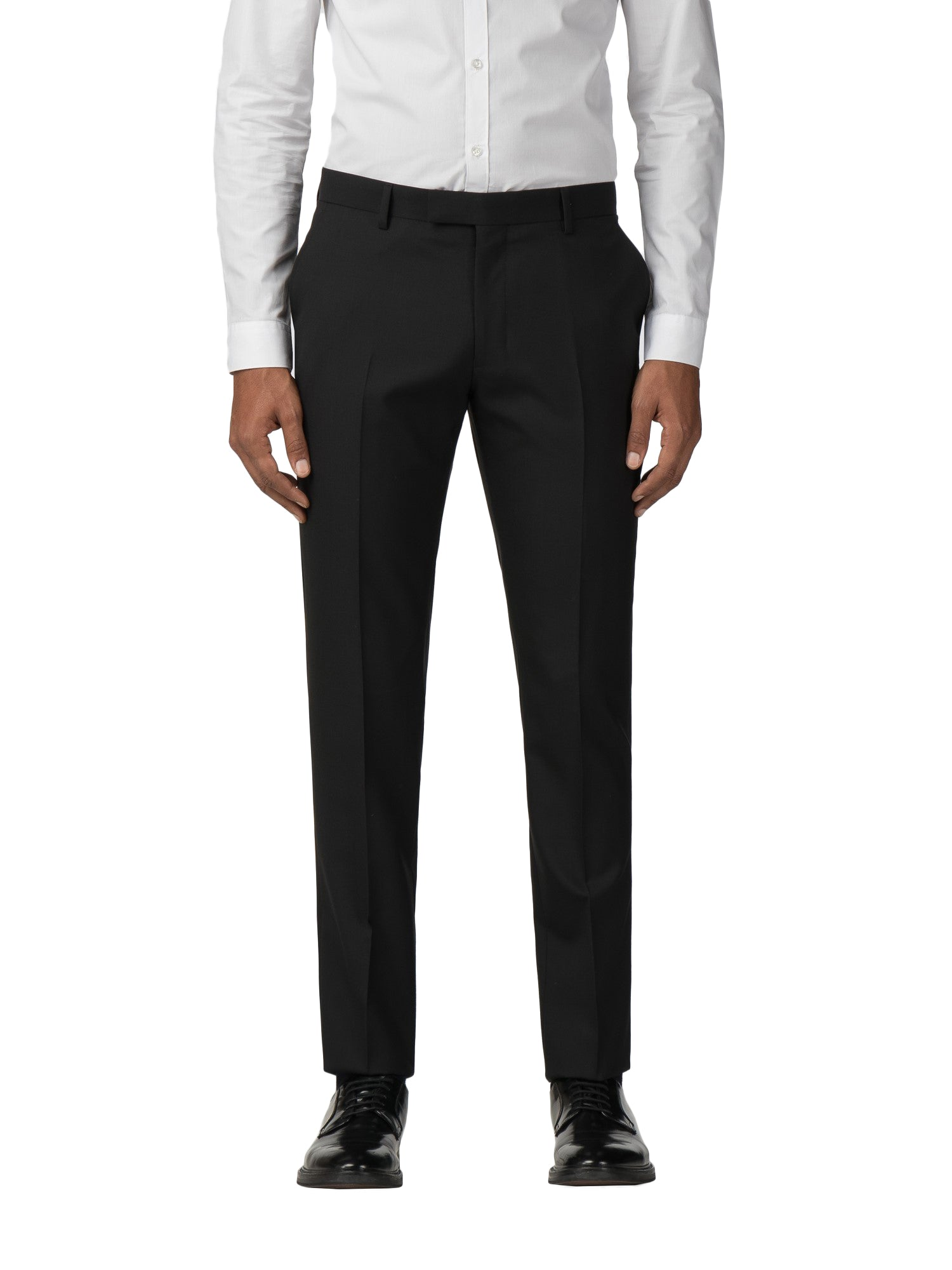 Ben Sherman Mens Black Dresswear Suit Trouser in 36S to 36S