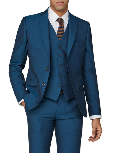 Tonic Camden Fit Suit Jacket - Blue
