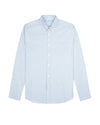 Long-Sleeve Polka Dot Oxford Shirt - Sky