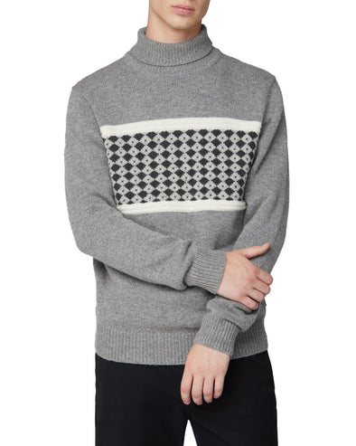 Fashion Roll Neck Sweater - Smoke