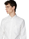 Long-Sleeve Archive Benny Shirt - White