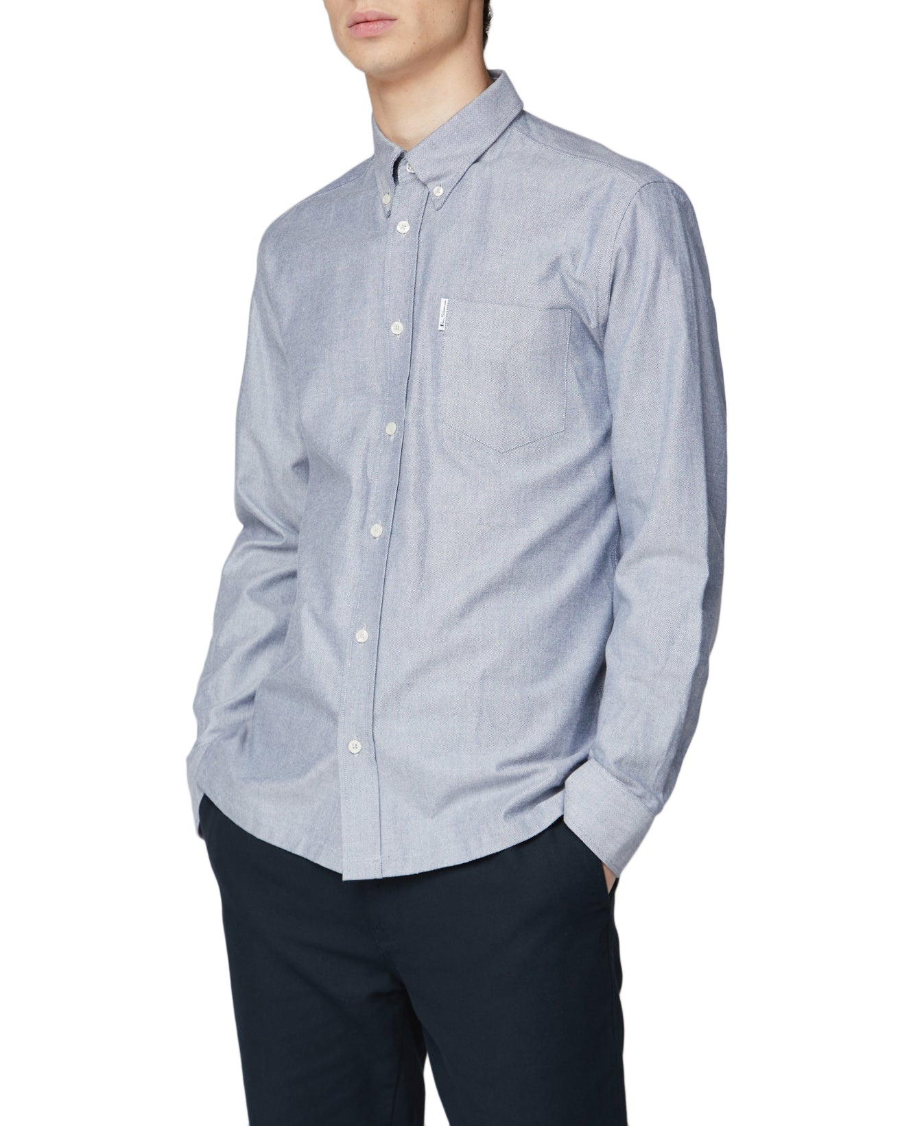 Long-Sleeve Archive Benny Shirt - Navy
