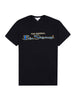 Archive Flock Logo T-Shirt - Anthracite