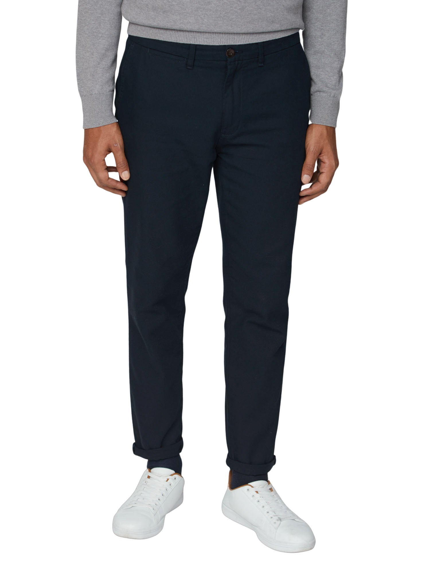 Canvas Slim Chino Pant - Midnight