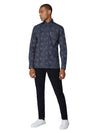 Long-Sleeve Archive Astoria Printed Shirt - Navy