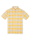 Short-Sleeve Archive Melody Check Shirt - Dijon
