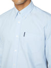 Long-Sleeve Signature Oxford Shirt - Sky