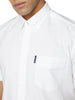 Short-Sleeve Signature Oxford Shirt - White
