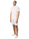 Short-Sleeve Signature Oxford Shirt - Light Pink