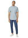 Short-Sleeve House Check - Blue