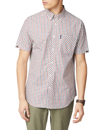 Short-Sleeve House Check - Red